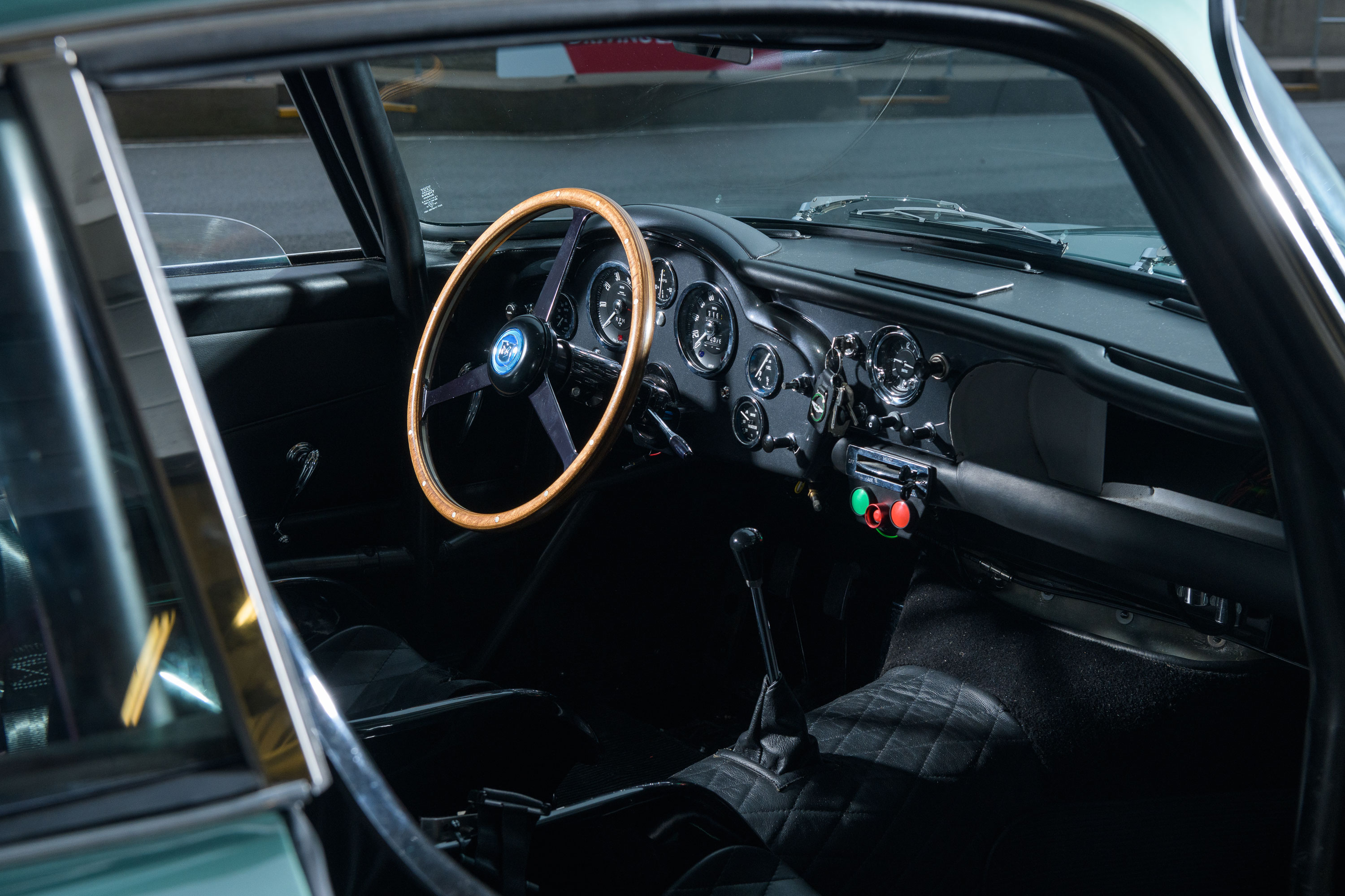 1959 Aston Martin DB4 GT interior