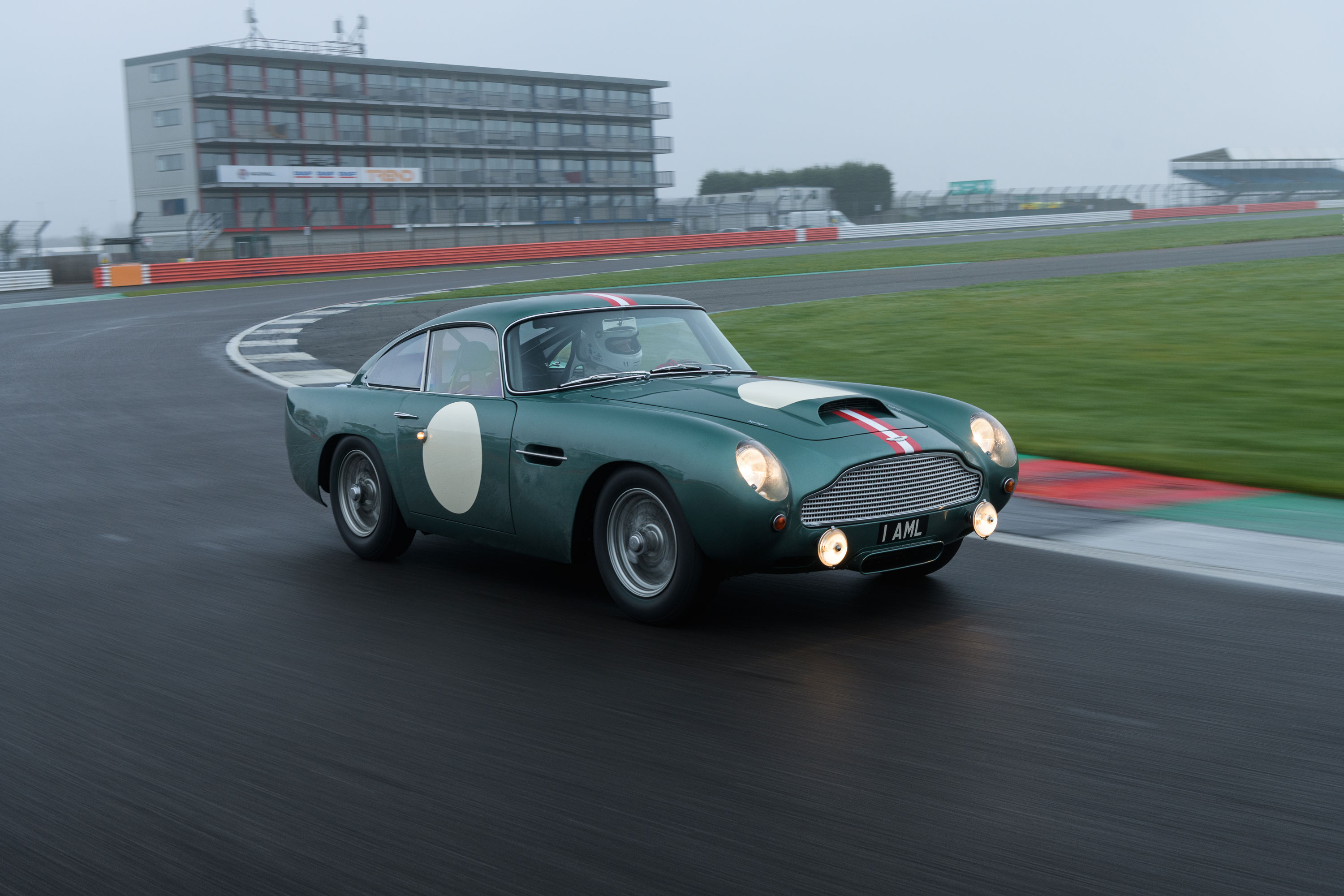 1959 Aston Martin DB4 GT driving