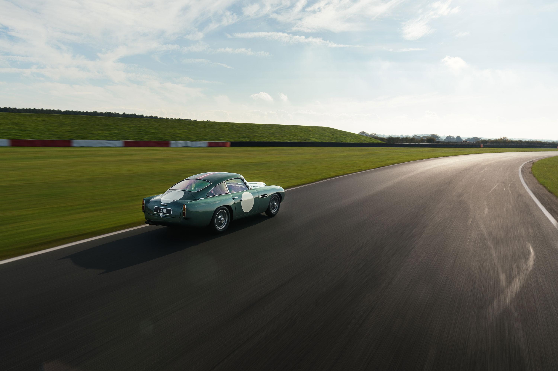 driving a 1959 Aston Martin DB4 GT