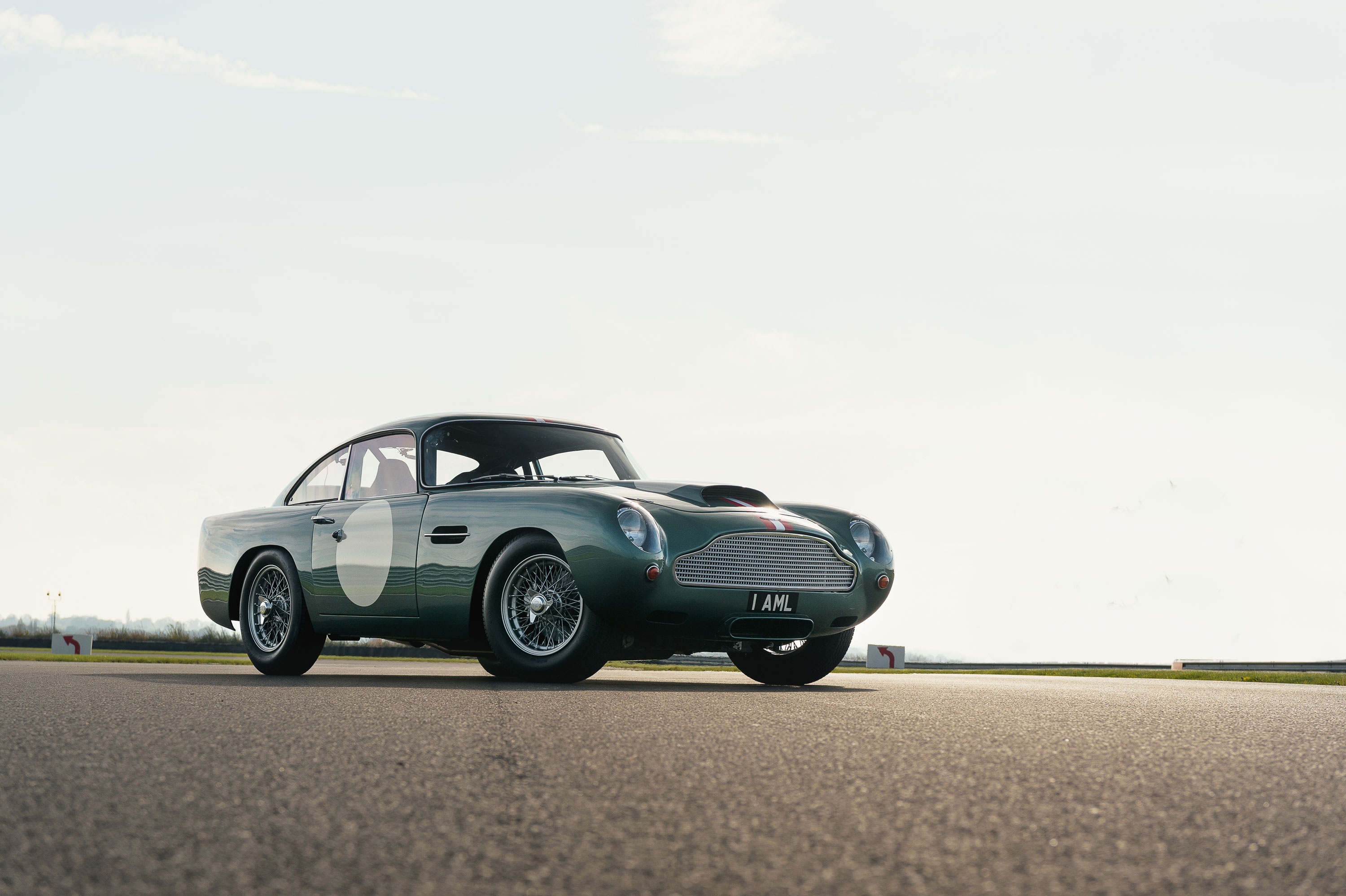 1959 Aston Martin DB4 GT low front 3/4