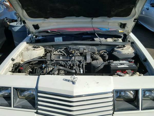 1983 Dodge 600 sedan engine