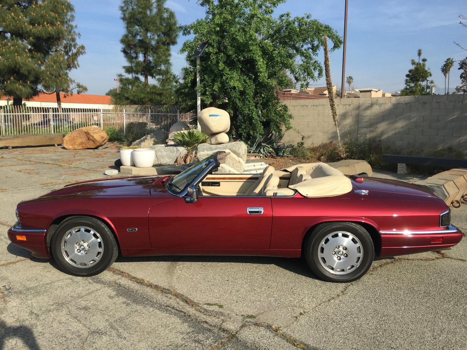1996 Jaguar XJS Convertible profile