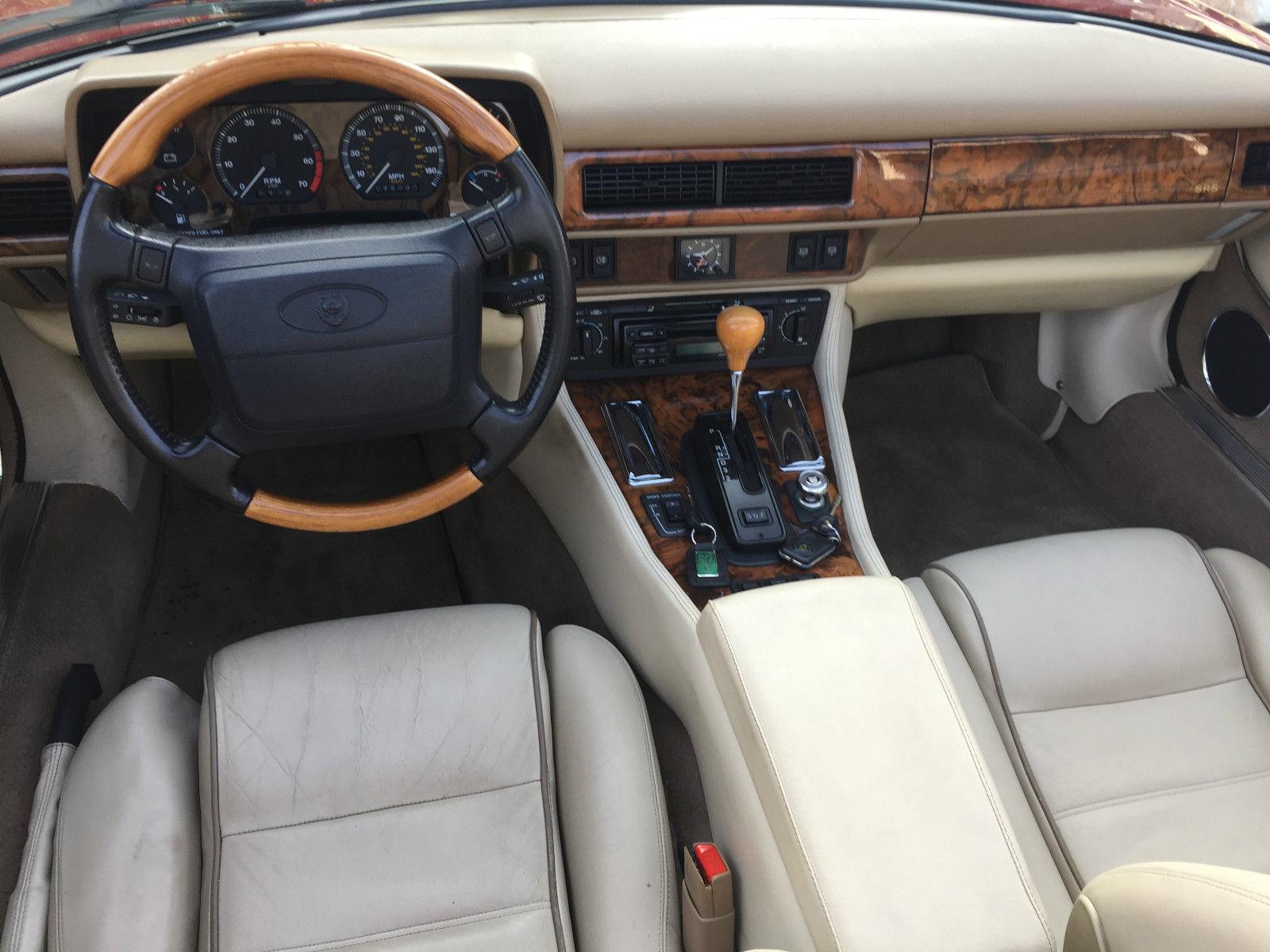 1996 Jaguar XJS Convertible interior
