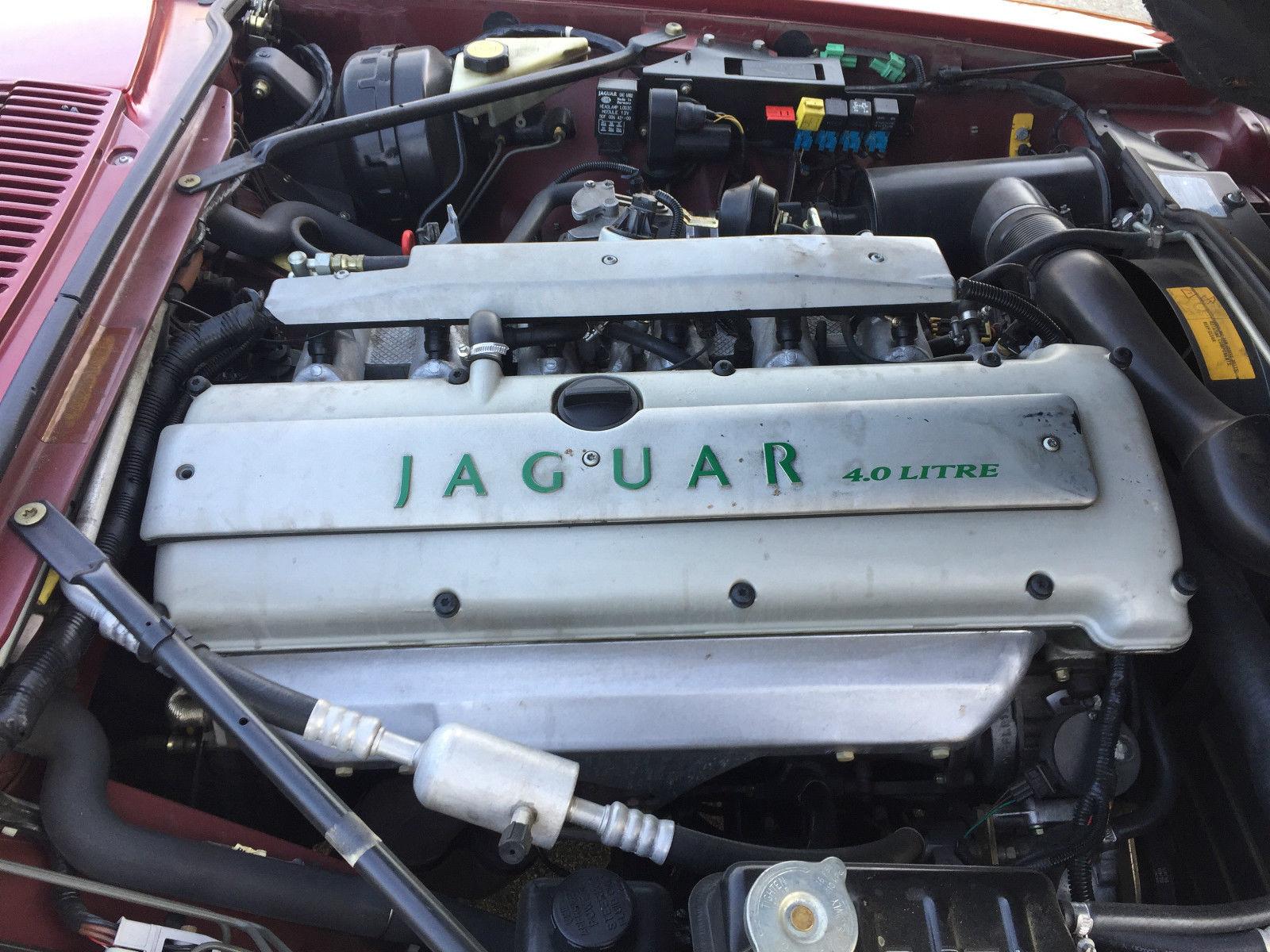1996 Jaguar XJS Convertible engine