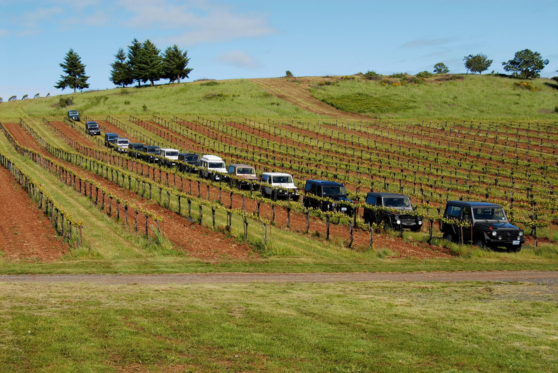 The Clubgwagen-Treffen rally each Father's Day weekend, at Lumos Wine properties in Oregon.