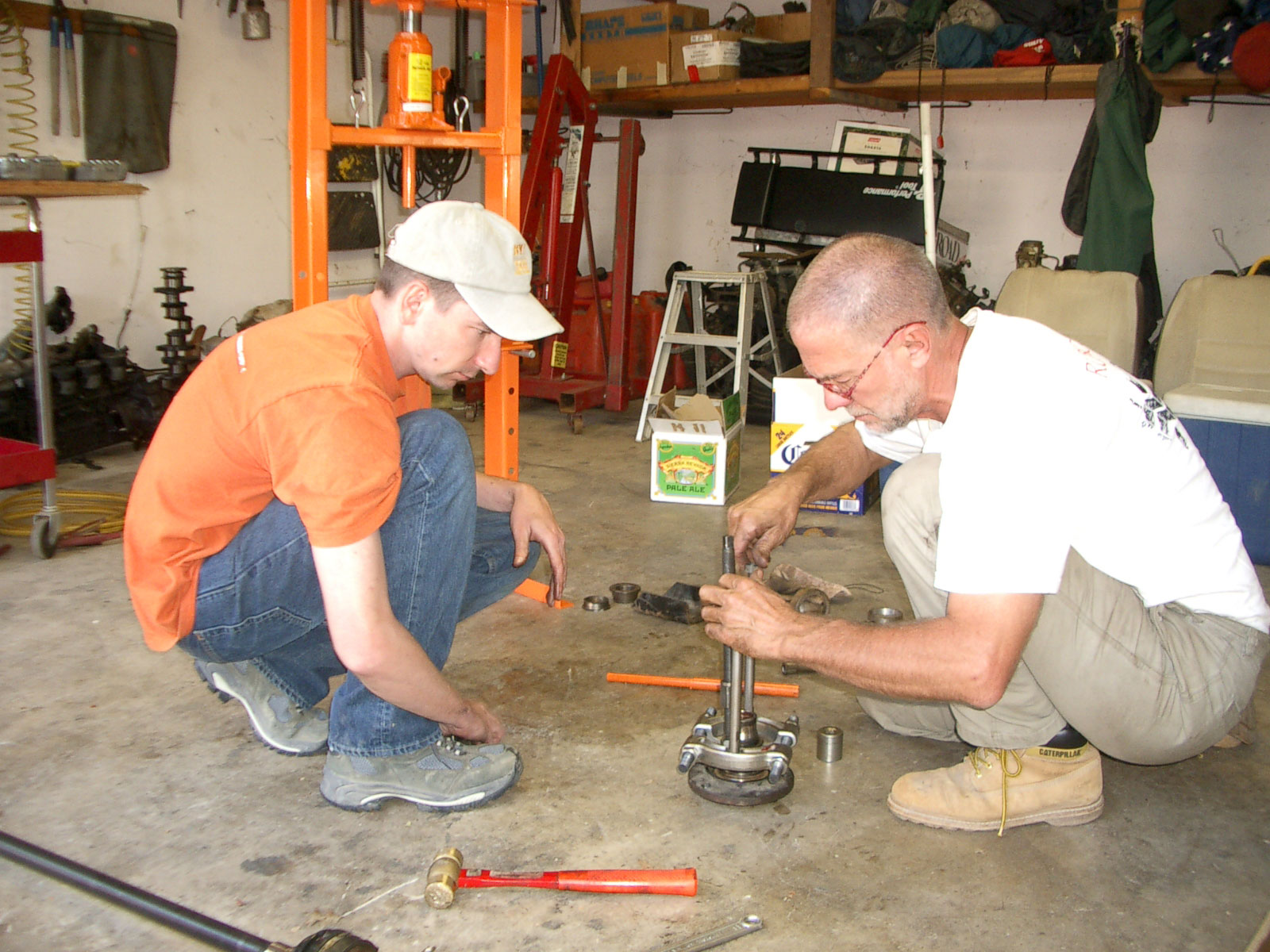 Bring your truck, camp for the weekend, rebuild an axle, or do a clutch job. Those jobs you fear most can be done with peer support, shared tools, and camaraderie.