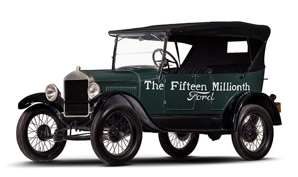 1927 Ford model T Fifteen Millionth Ford