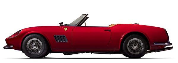 1985 Modena Spyder California replica from Ferris Bueller's Day off