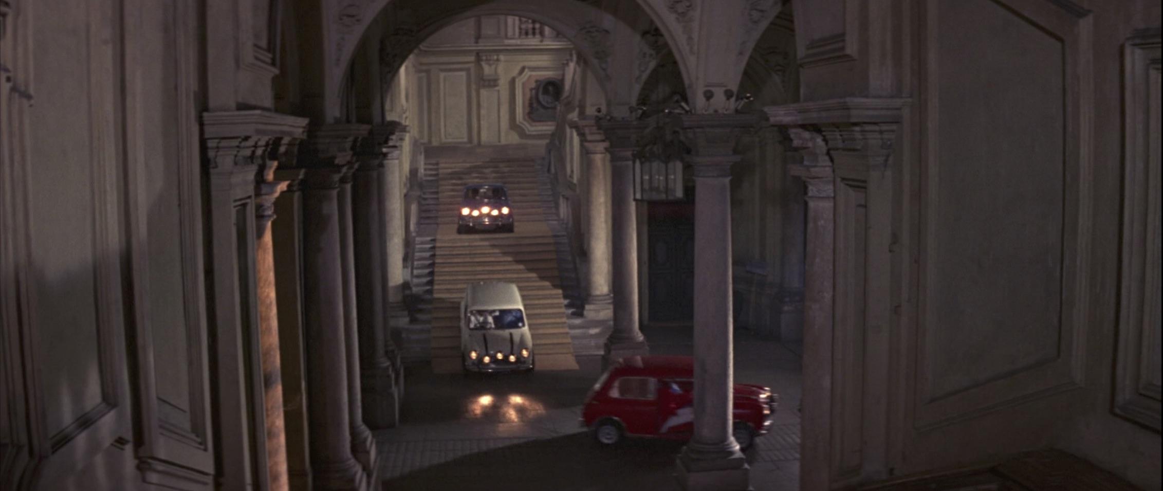 Italian Job 1969 Mini Cooper