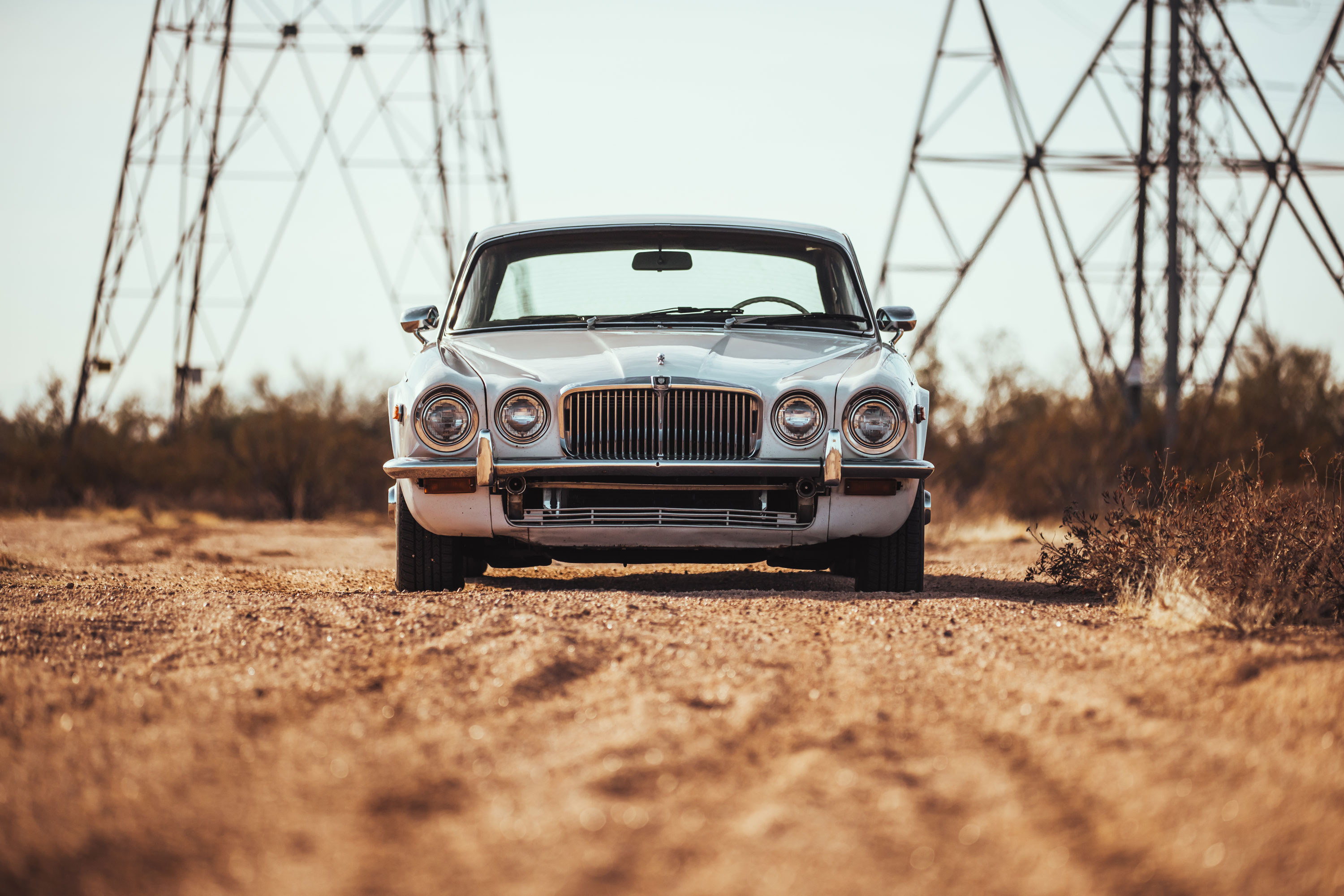 1974 Jaguar XJ6 dead on