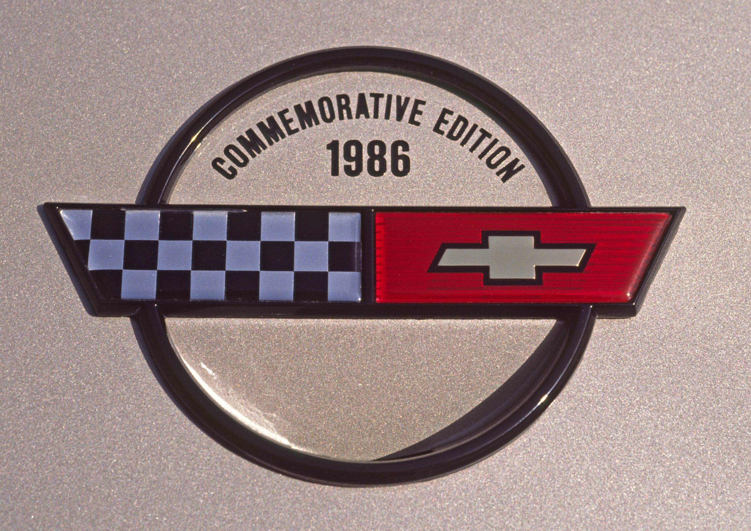 Malcolm Konner Corvette badge