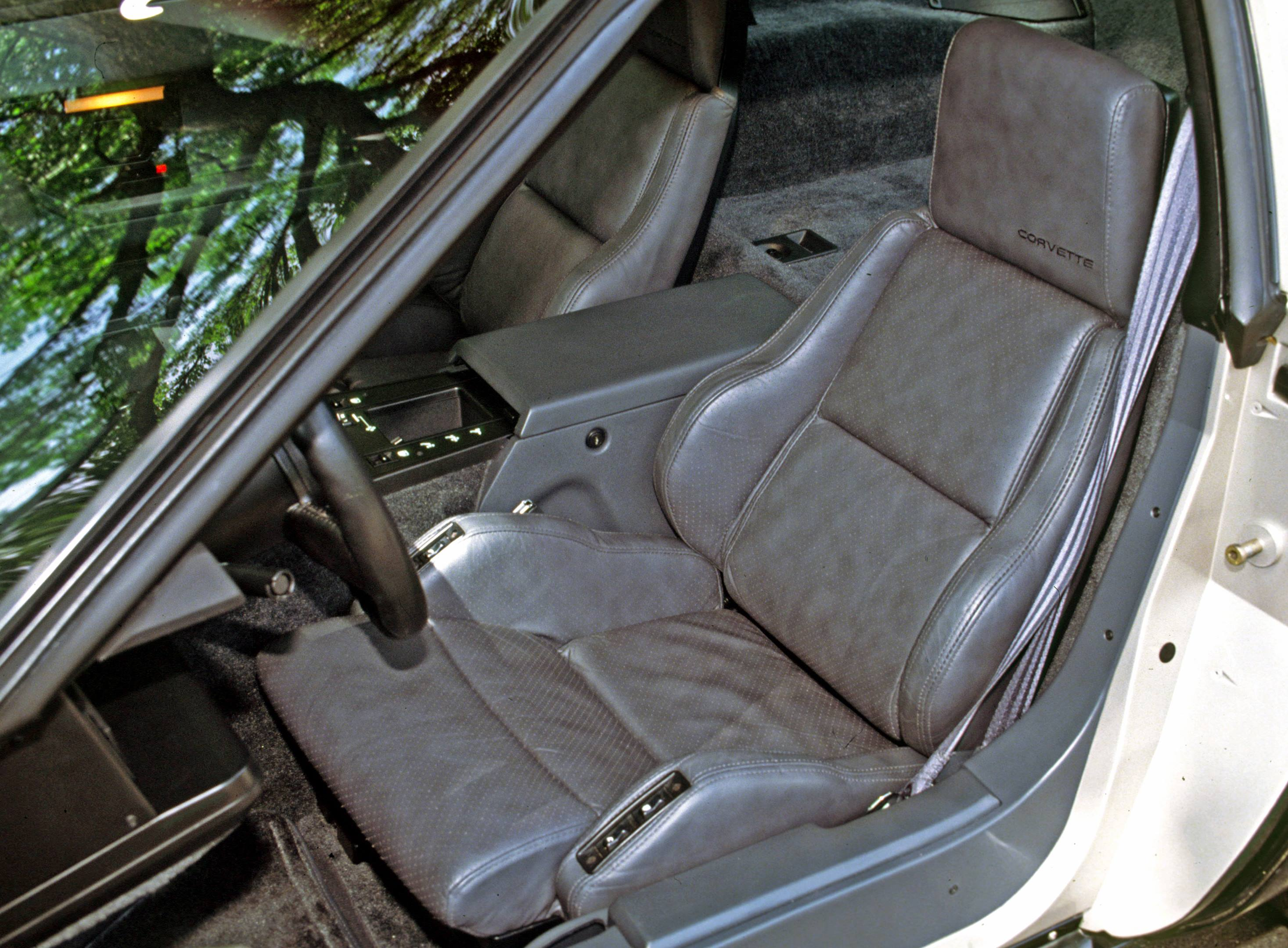 The 1986 Malcolm Konner Edition Corvette interior