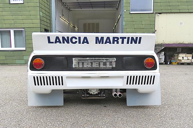1983 Lancia 037 rear