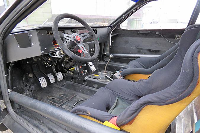 1983 Lancia 037 interior