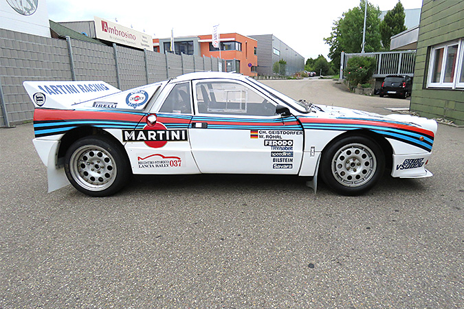 1983 Lancia 037 profile