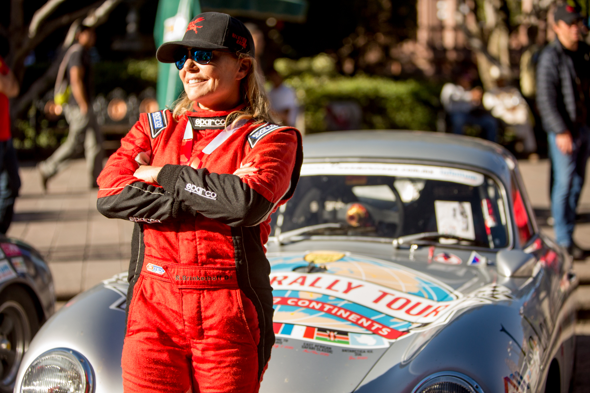 Renée Brinkerhoff began racing at age 57 and has run La Carrera Panamericana four times.