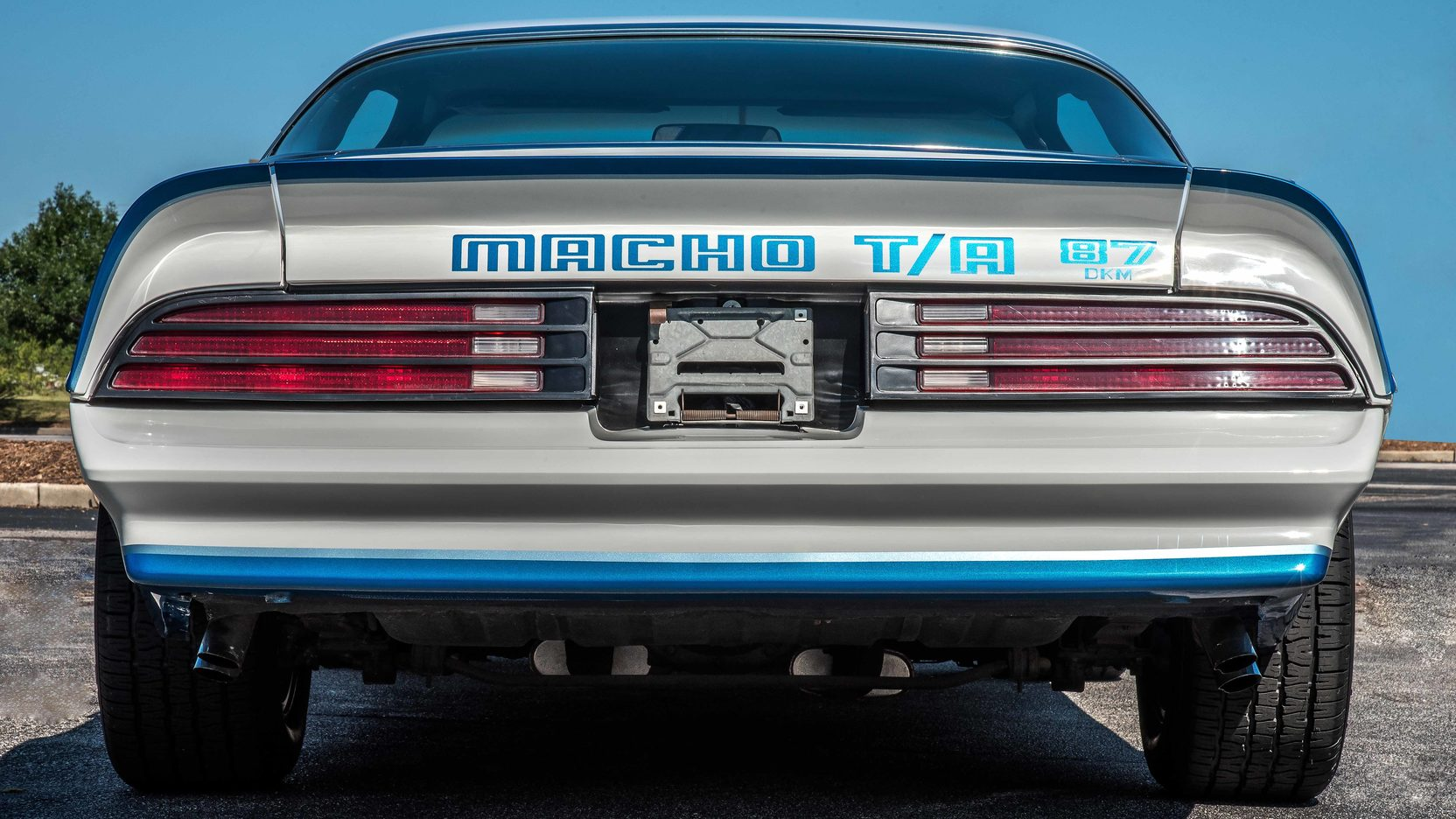 1978 Pontiac Macho Trans Am rear