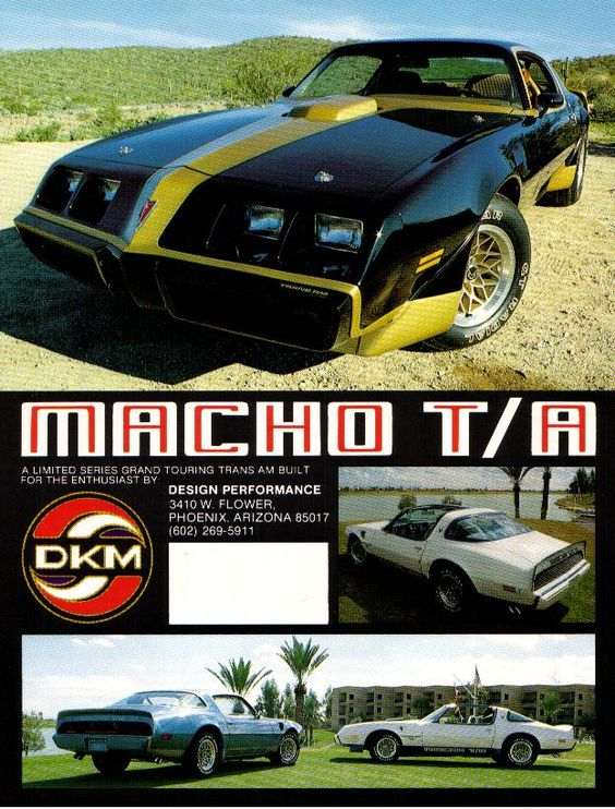 Macho T/A advertisement