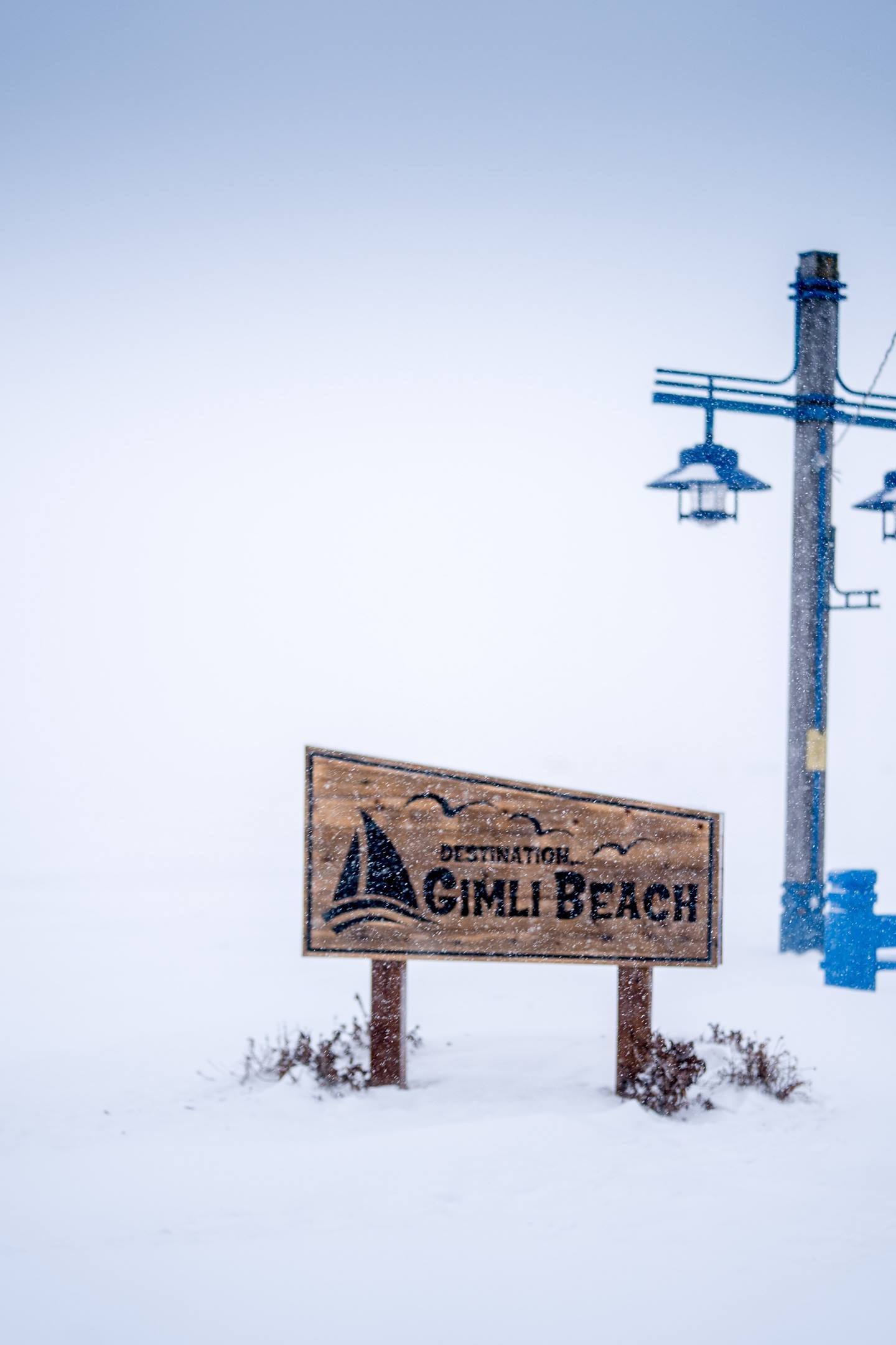 Frozen Gimli Beach