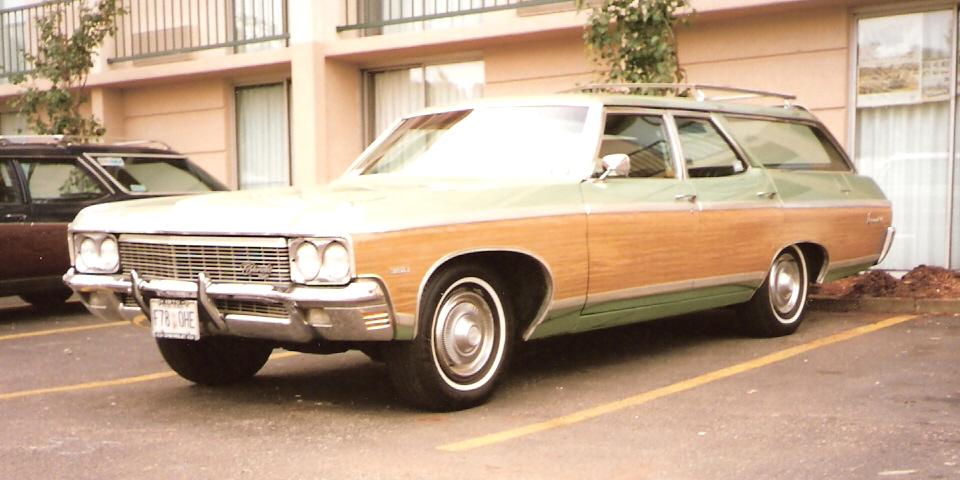 1970 Chevrolet Kingswood Estate station wagon