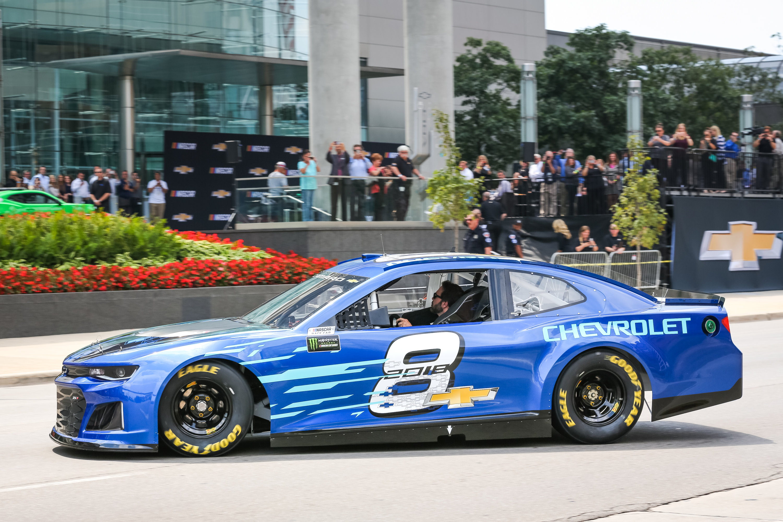 2018 Chevrolet Camaro ZL1 NASCAR profile