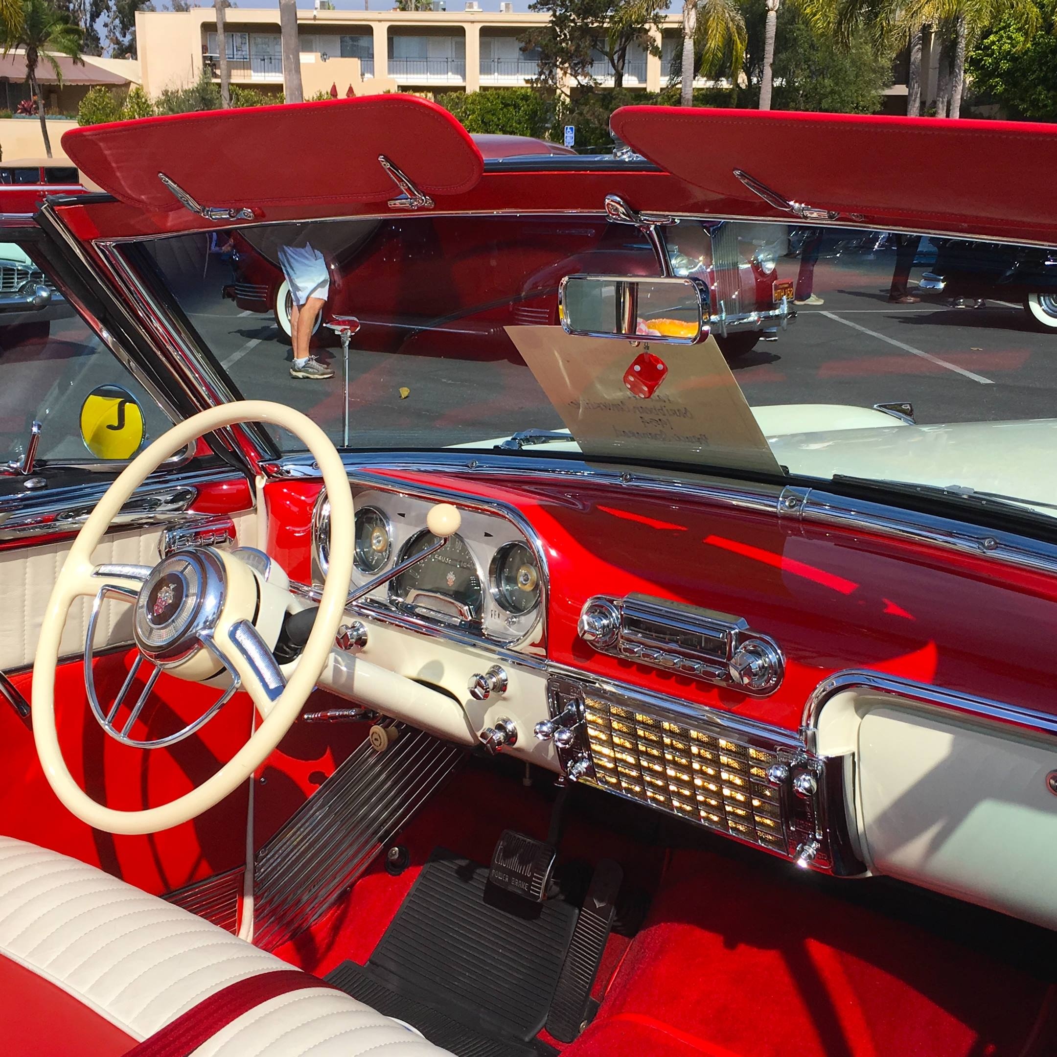1954 Packard Caribbean interior