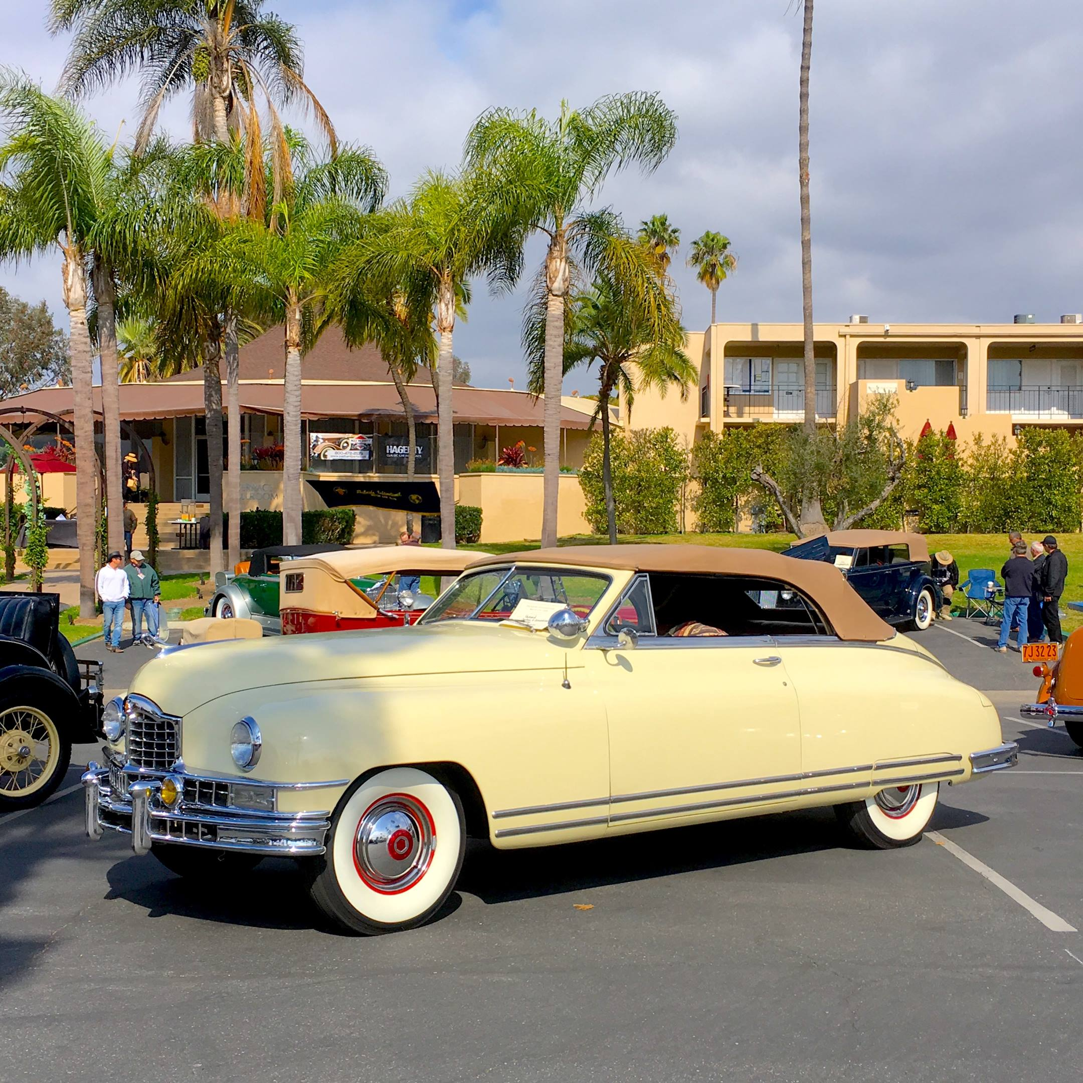 1948 Packard convertible left hand side view