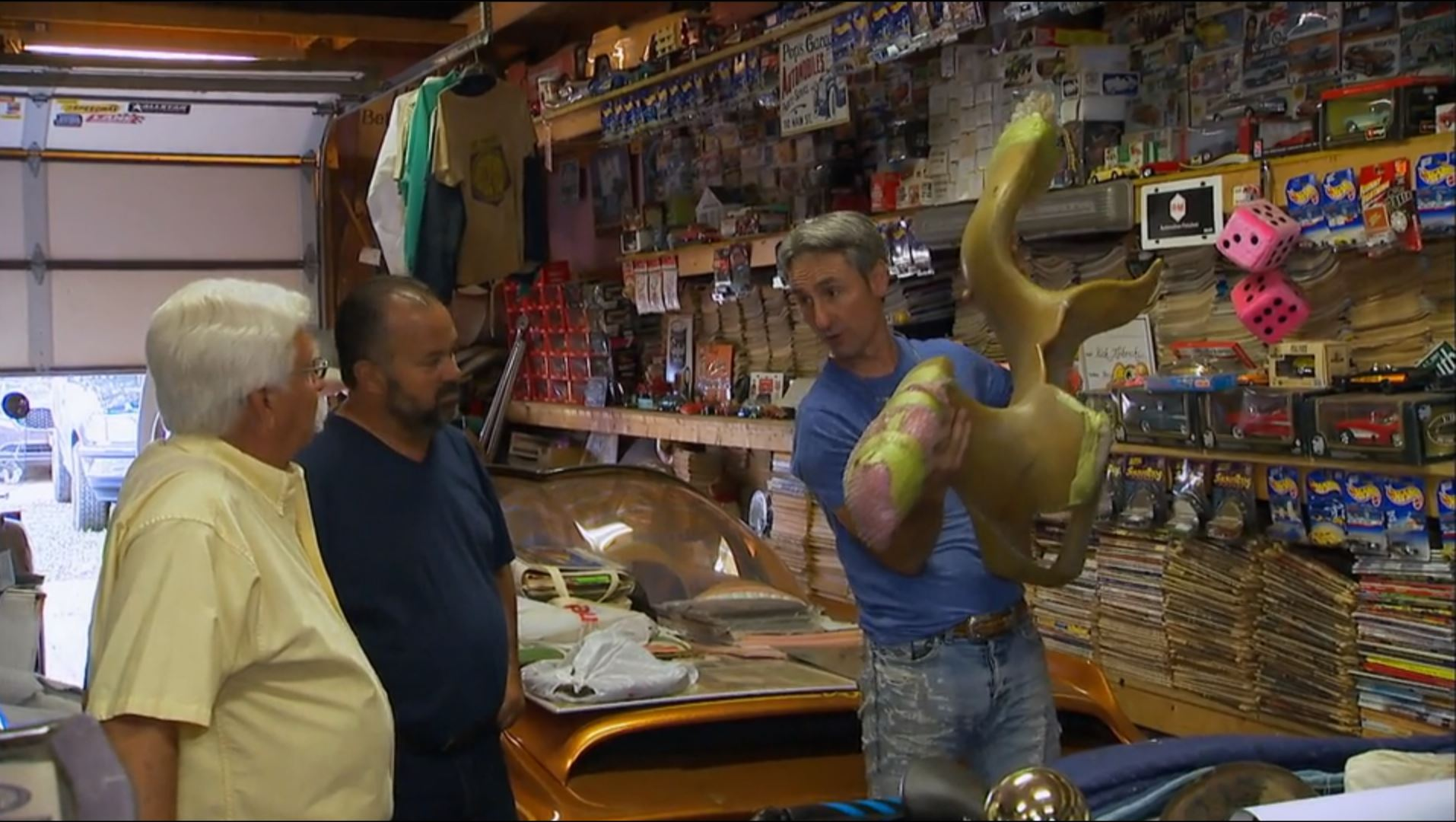 """Ed Roth """"Outlaw"""" nose on American Pickers"""