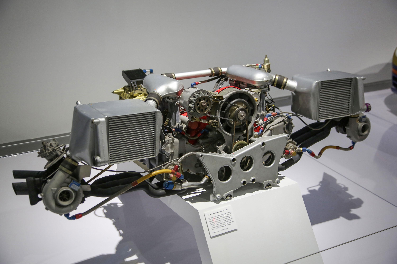 Porsche Type 935/76 turbocharged flat-six engine
