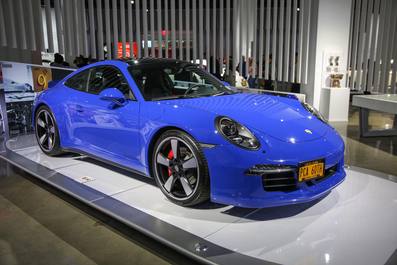 2016 Porsche 911 GTS Club Coupe