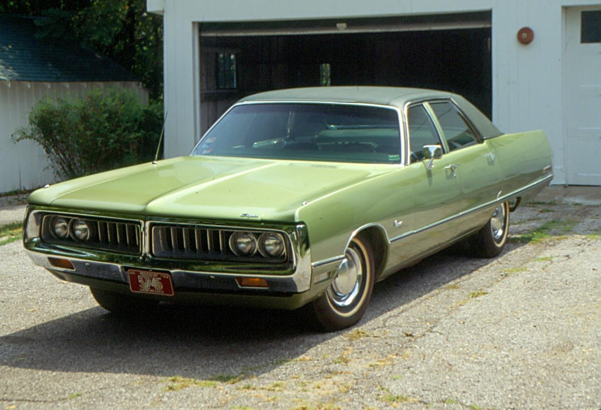 Harry S. Truman's 1972 Chrysler Newport