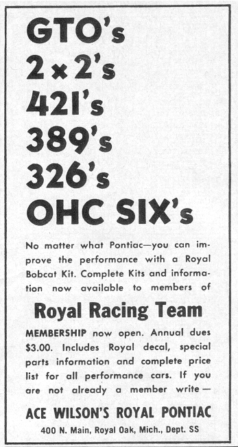 Royal Pontiac Racing Team
