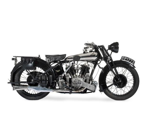 1926 Brough Superior SS80