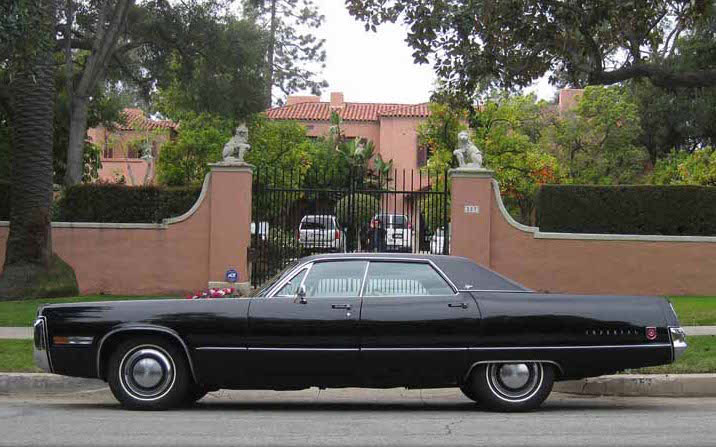Syd Mead bought this 1972 Imperial seven years ago with 4,000 miles.