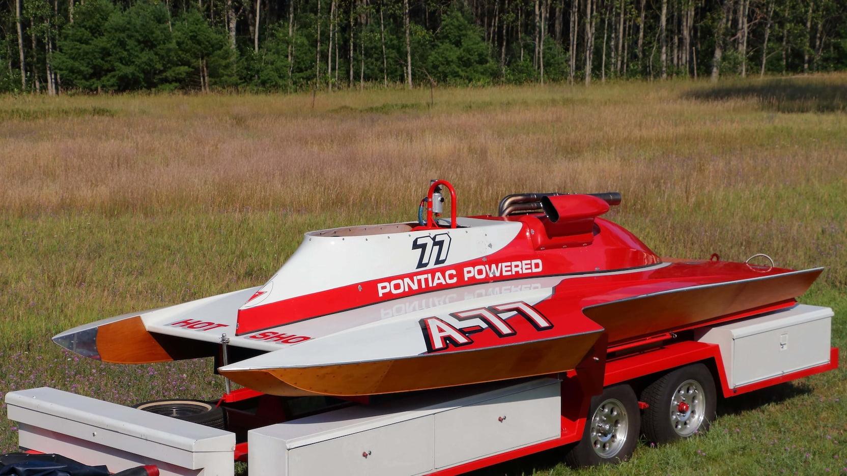 1982 Pontiac 18' Tom D'eath
