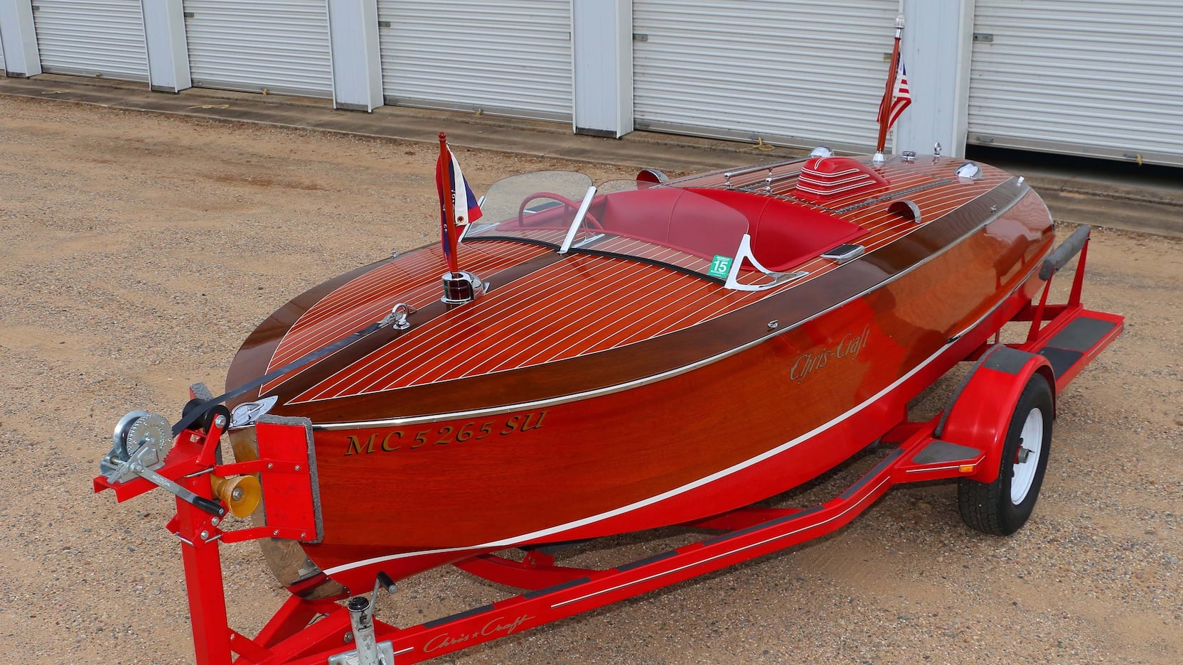 Chris-Craft 16' Bugsy Replica