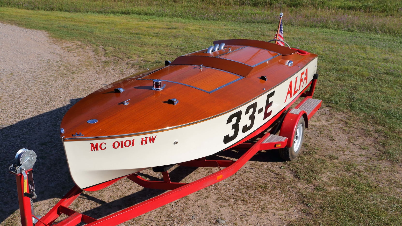 1937 Ventnor 18' Racing Runabout 'Alfa'