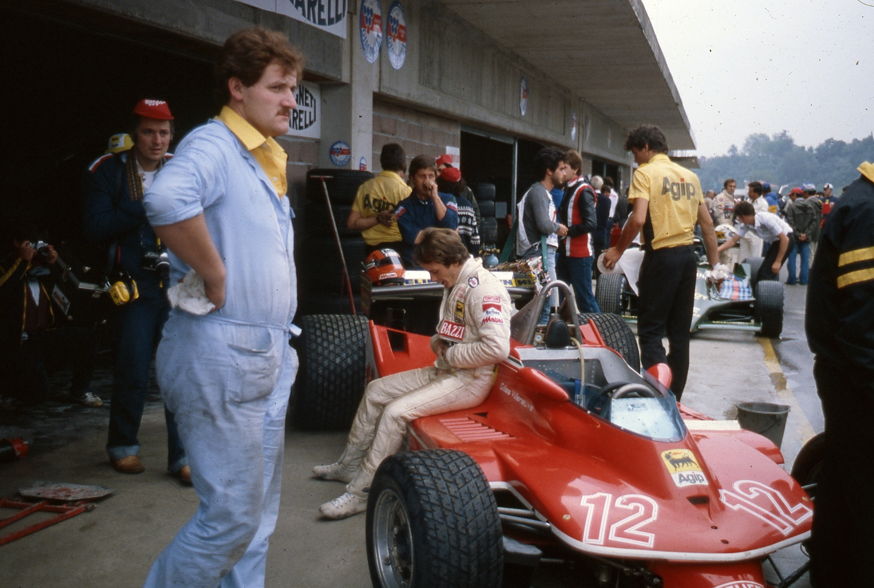 Gilles Villeneuve at Imola GP in 1979