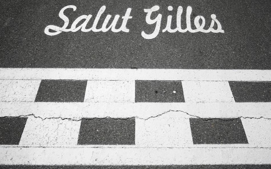 Start-finish-line at Circuit Gilles-Villeneuve