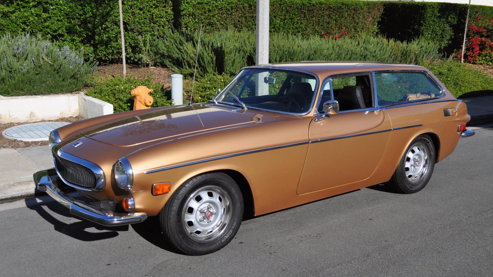 1973 Volvo 1800ES wagon front 3/4