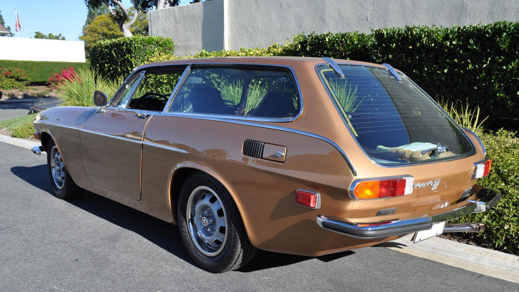 1973 Volvo 1800ES wagon rear 3/4