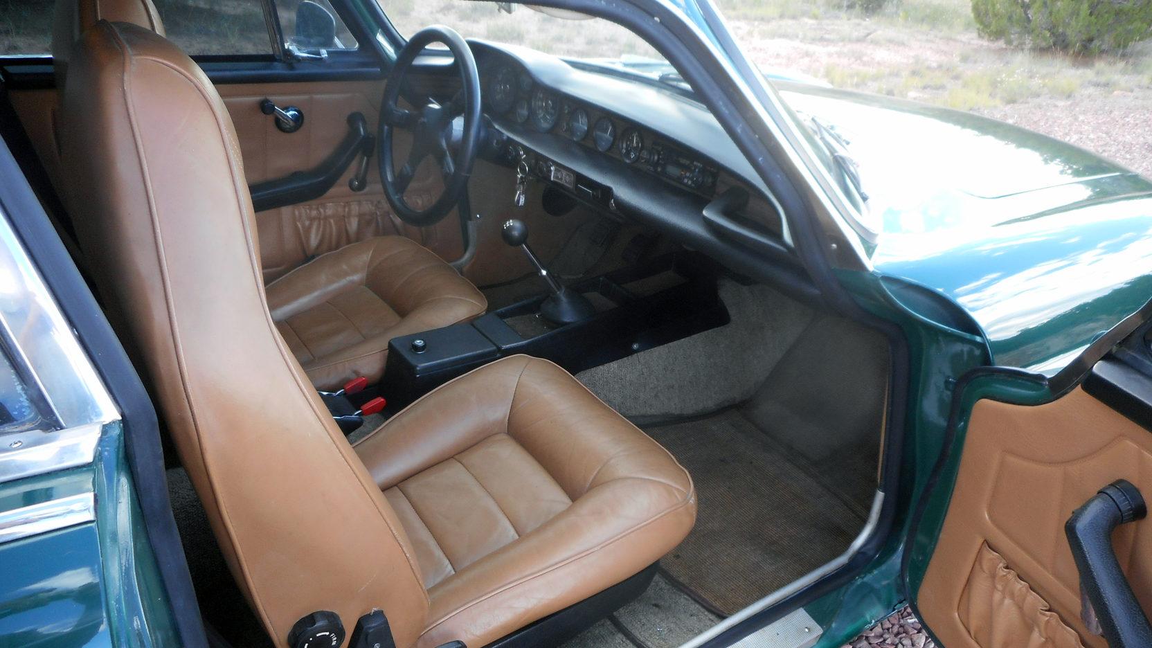 1972 Volvo 1800ES wagon interior