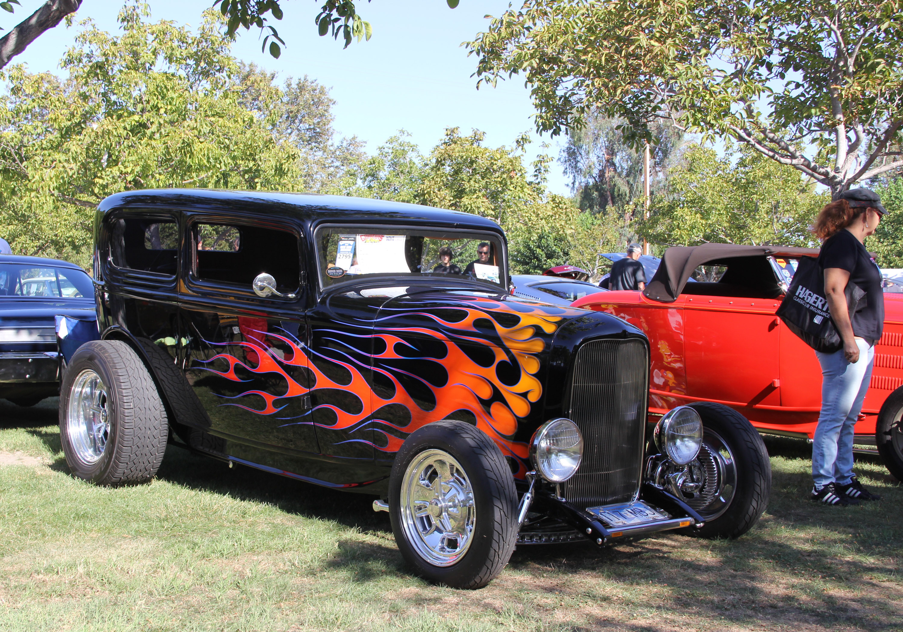 Flaming hot rod