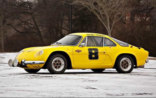 1963 Alpine A110 1100 profile