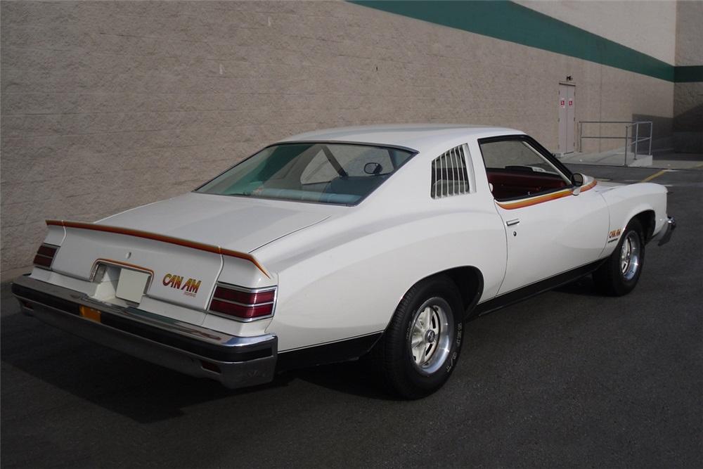 1977 Pontiac Can Am rear 3/4