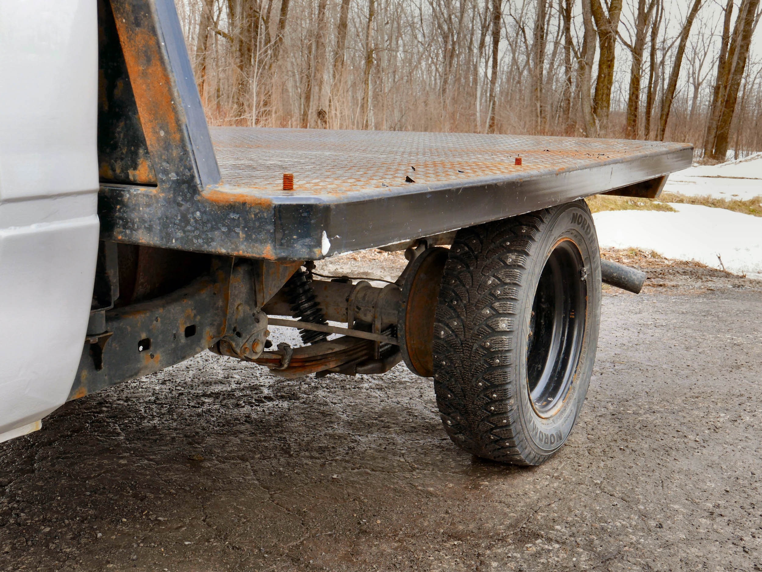 flatbed detail