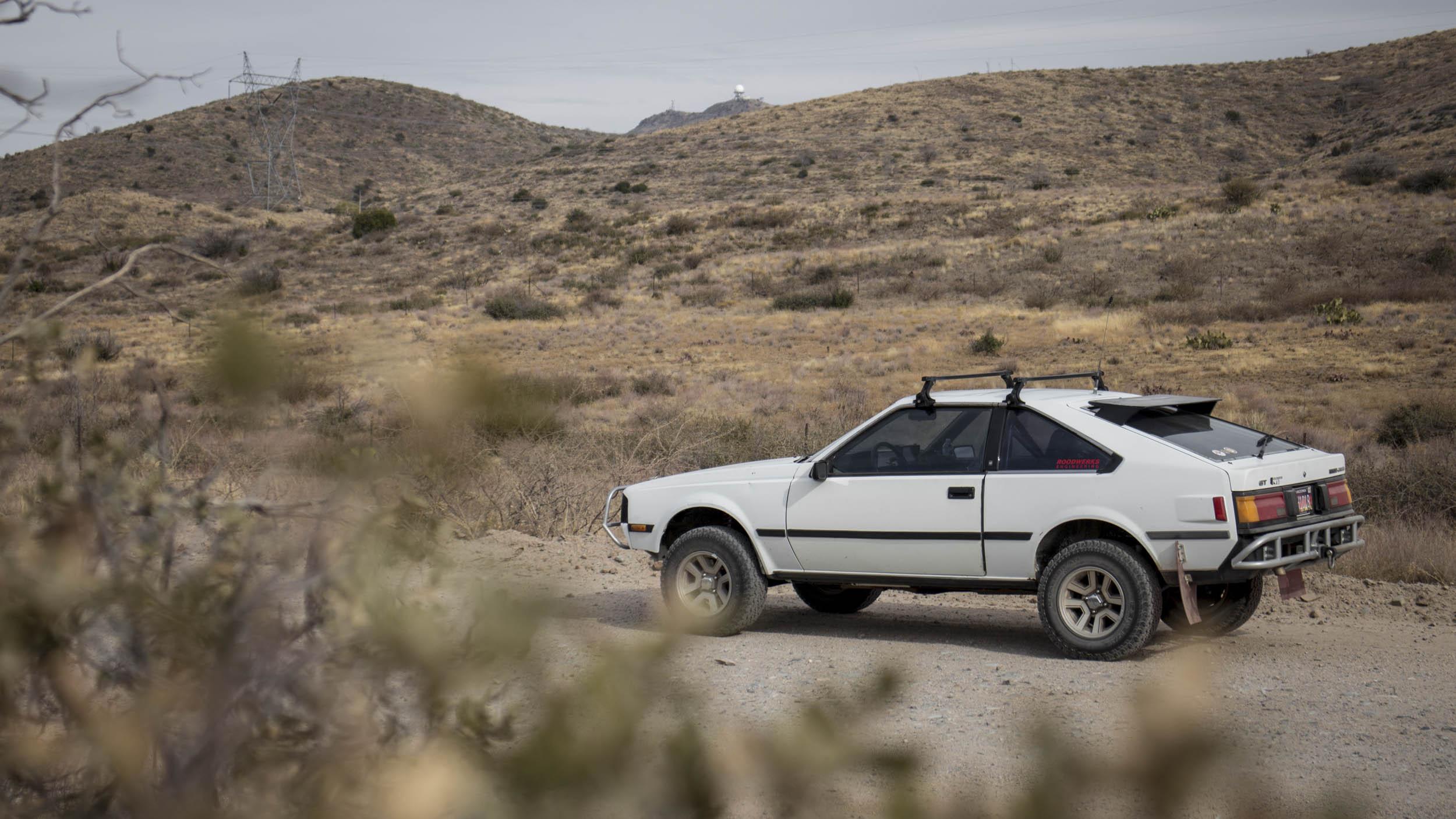 1984 Toyota Celica GT profile