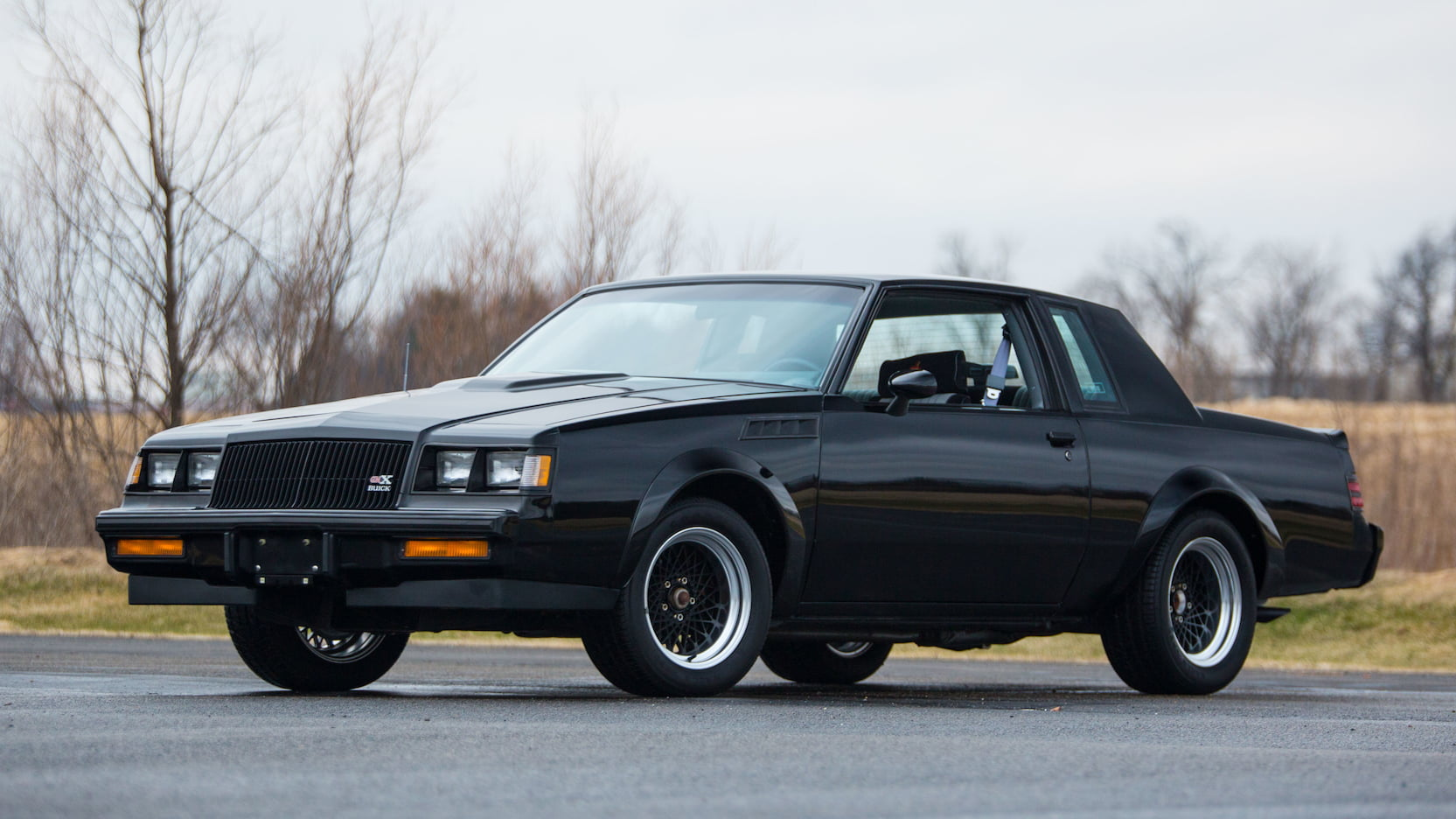 1987 Buick GNX front 3/4