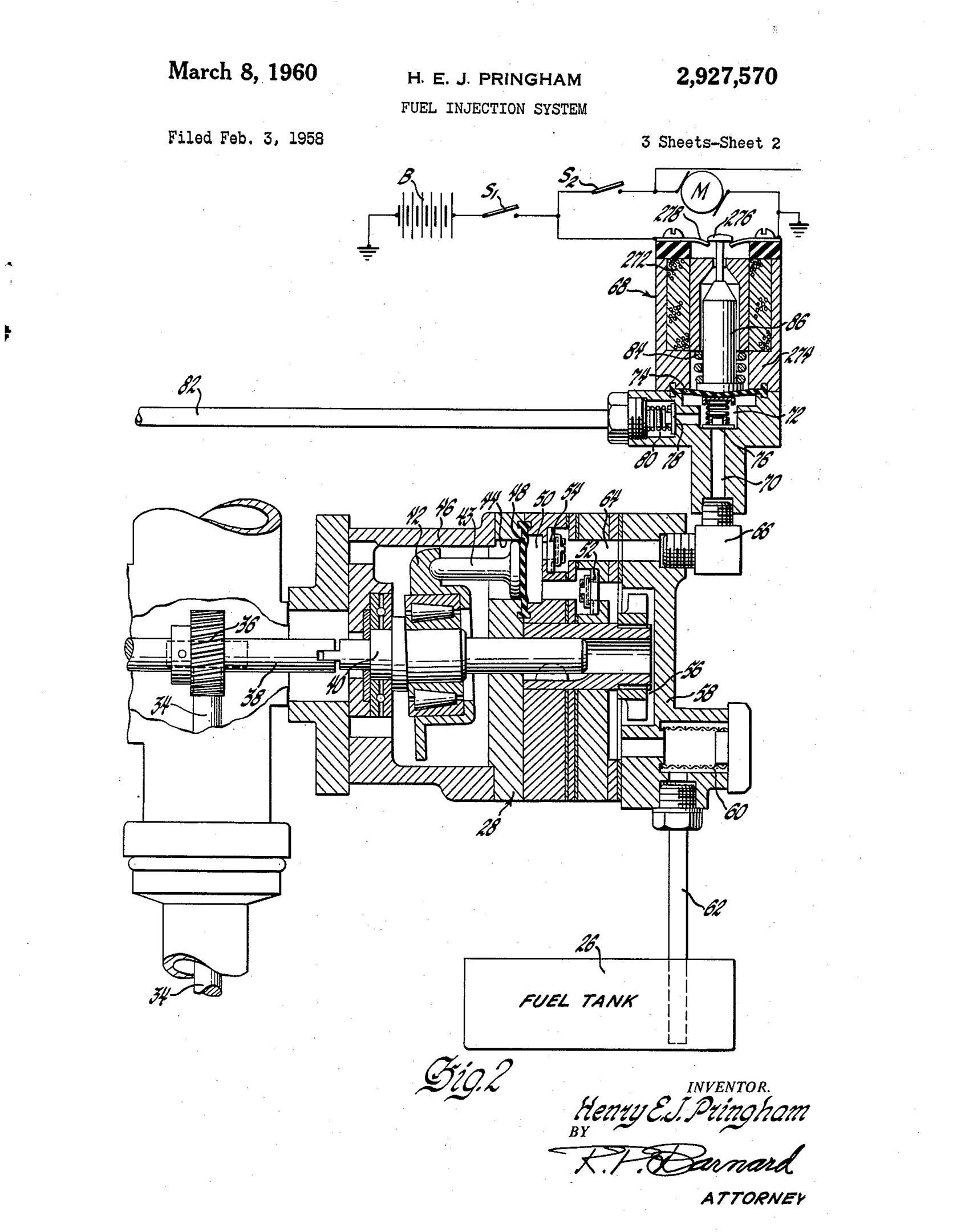 Pringham's injection prototype