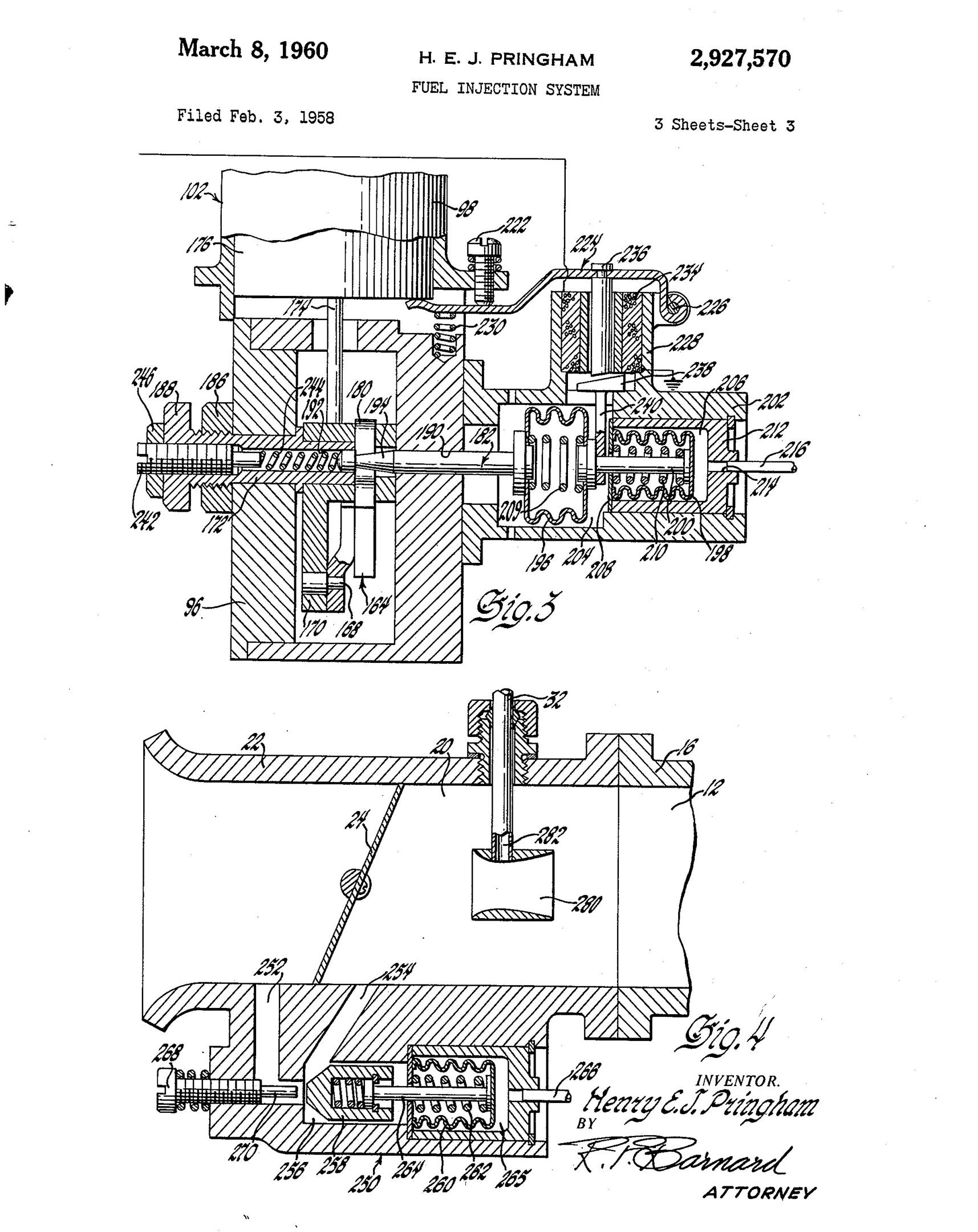 fuel injection patent drawing